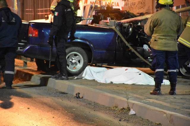 ¡1 muerta y 3 lesionados tras aparatoso choque en Zacatecas!