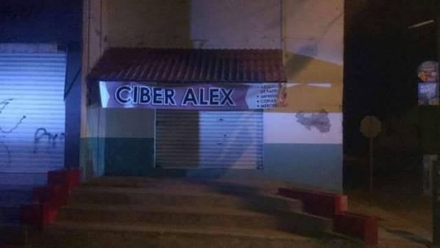 ¡Balearon un ciber-café en Aguascalientes!