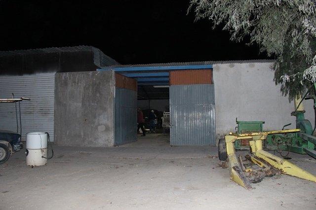 ¡Catearon un taller mecánico en Aguascalientes y se aseguraron 7 vehículos robados!