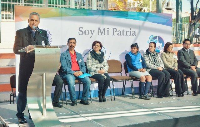 """¡El presidente municipal de Jesús María puso en marcha el programa """"Soy mi Patria""""!"""