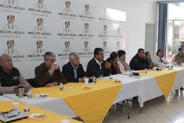 ¡Se instaló en Pabellón de Arteaga el Consejo Municipal de Consulta y Participación Ciudadana en Seguridad Pública!