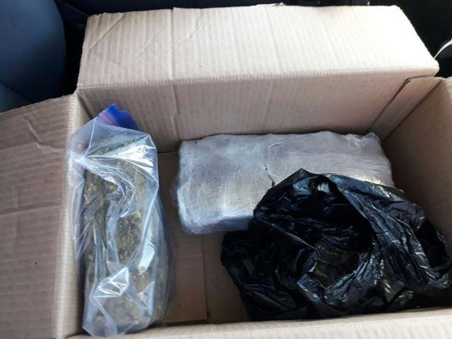 ¡Detuvieron a traficante con casi 2.5 kilos de marihuana en Aguascalientes!