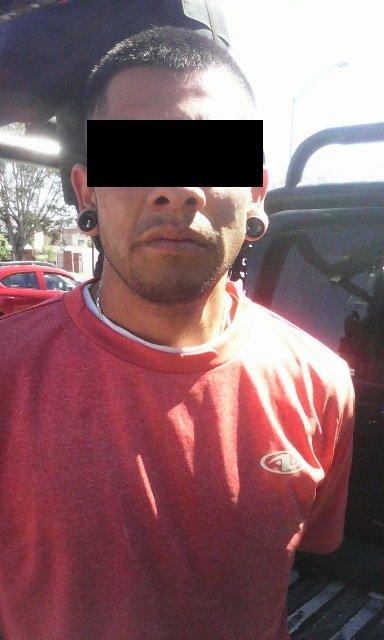 ¡Policías estatales detuvieron a un sujeto armado en Aguascalientes!
