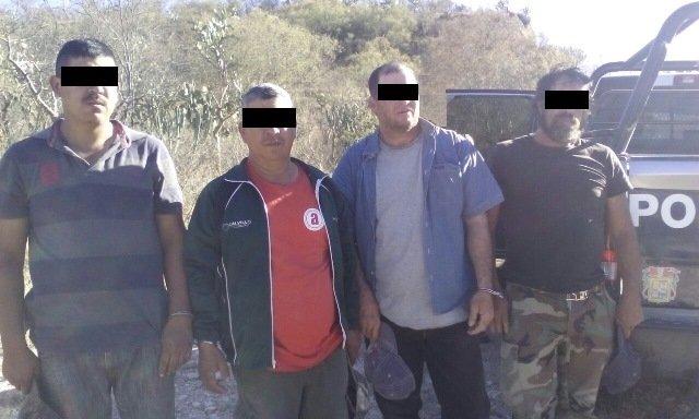 ¡Detuvieron a 4 cazadores furtivos en Aguascalientes!