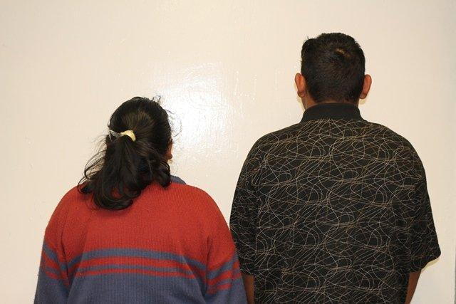 ¡Detuvieron a madre e hijo narcotraficantes y les confiscaron 30 kilos de marihuana en Aguascalientes!