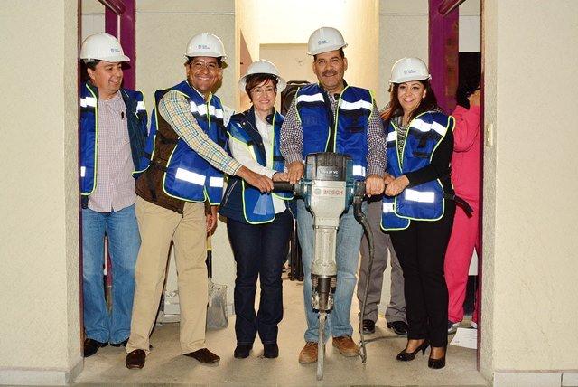 ¡Importante inversión se aplicará en la remodelación del Centro de Rehabilitación e Integración Social del DIF Estatal!