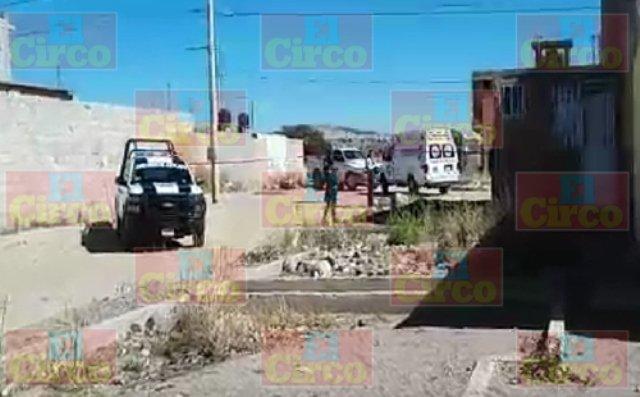 ¡De 2 balazos ejecutaron a vecino de la colonia Artesanos en Fresnillo!