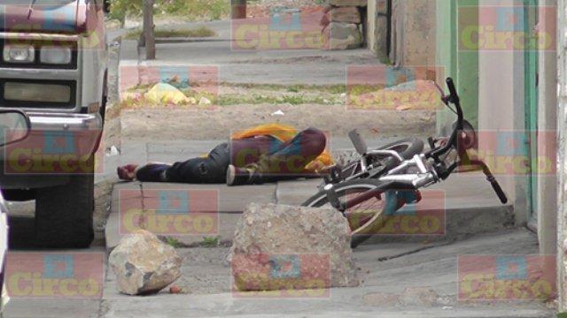 ¡Sigue la violencia en Fresnillo: ejecutaron a un hombre que viajaba en bicicleta!