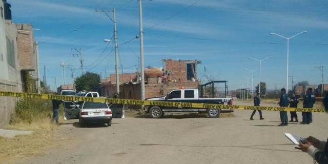 ¡Ejecutaron a una mujer a bordo de un taxi, en Guadalupe, Zacatecas!