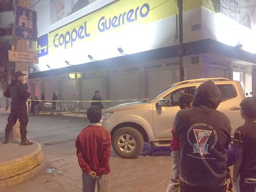GALERÍA/¡Ejecutan al Comisario de la policía de San Juan de los Lagos, Jalisco!