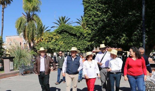 ¡Acuerdan Secretaría de Turismo y Gobierno Municipal trabajar en conjunto para fortalecer Calvillo Pueblo Mágico como destino turístico!