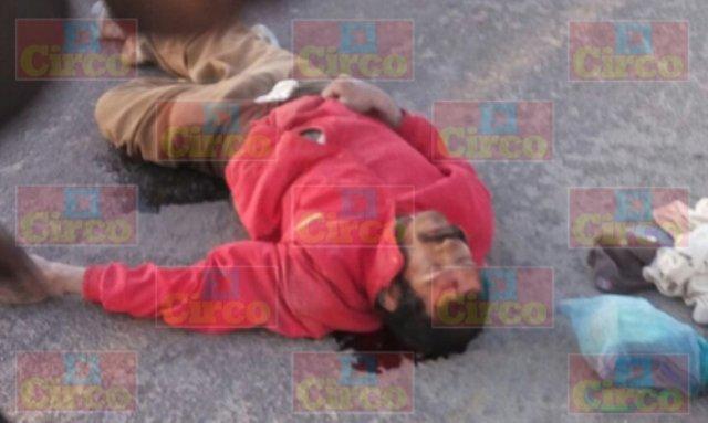 ¡Grave un hombre atropellado en Lagos de Moreno!