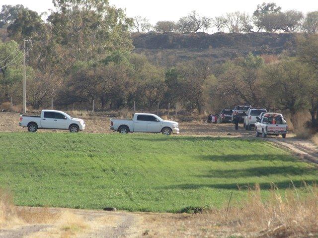 ¡Hallaron una narco-fosa con un cuerpo enterrado en Aguascalientes!