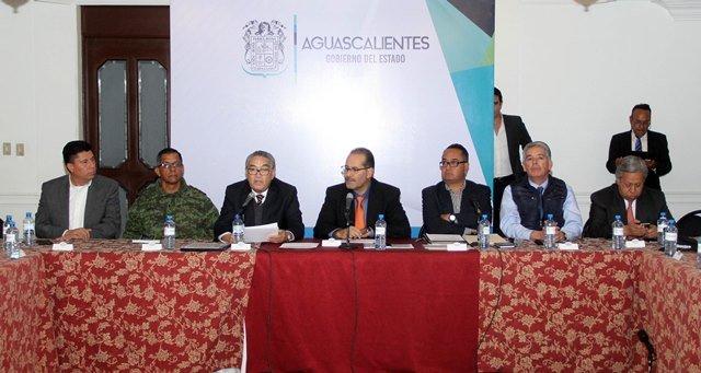 ¡Convoca Gobierno del Estado a delegados federales a cerrar filas por Aguascalientes!
