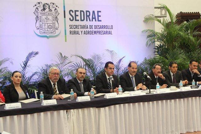 ¡Encabeza MOS la primera sesión ordinaria del Consejo Estatal para el Desarrollo Rural Sustentable del Estado de Aguascalientes!