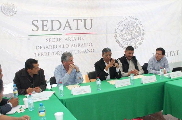 ¡SEDATU acuerda proyectos integrales a favor de Aguascalientes!