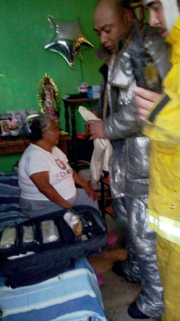 ¡Se incendió una casa en Aguascalientes y dejó daños materiales!