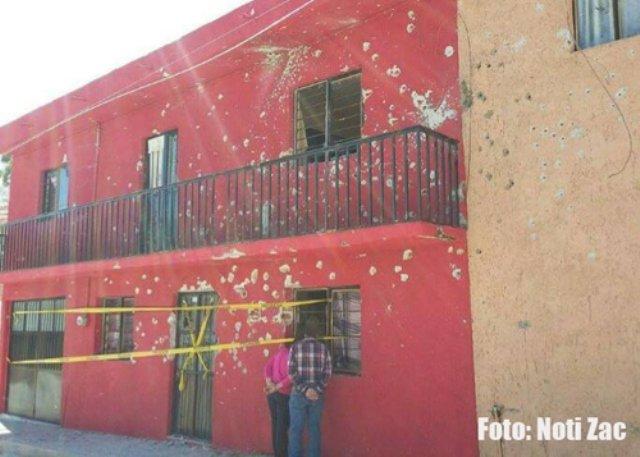 ¡Impresionante enfrentamiento a balazos entre grupos antagónicos en Nochistlán, Zacatecas!