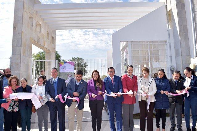 ¡Inauguró la alcaldesa Tere Jiménez el primer parque para mascotas en la historia de Aguascalientes!