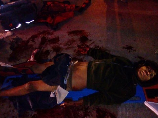 ¡Grave joven que fue atropellado por el tren en Aguascalientes!
