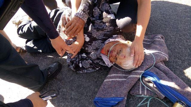 ¡Grave adulto mayor atropellado por una camioneta en Aguascalientes!
