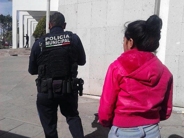 ¡Policías preventivos localizaron a una jovencita desaparecida en Aguascalientes!