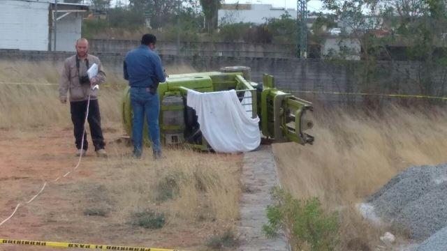 ¡Trabajador originario de Jalisco murió aplastado por un montacargas en Aguascalientes!