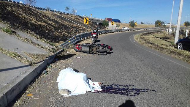 ¡Adulto mayor falleció tras una caída de su motocicleta en Aguascalientes!