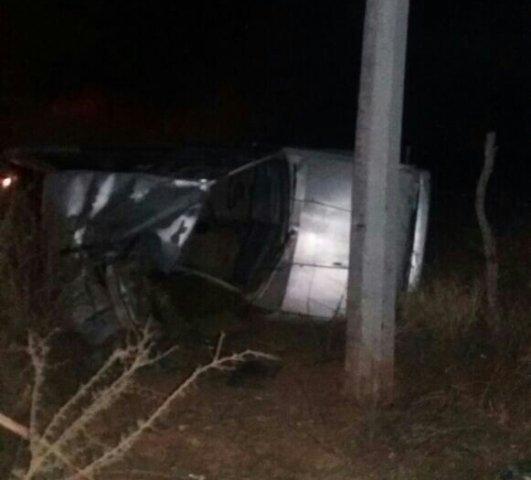 ¡Joven automovilista se mató tras un choque-volcadura en Guadalupe, Zacatecas!