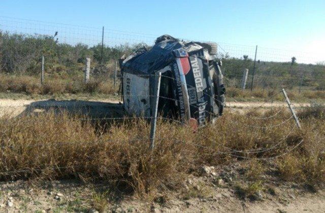 ¡Mueren Delegados de la Policía Federal y del CISEN en una volcadura en Tamaulipas!