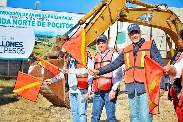 ¡Alcalde de Jesús María celebra que el Gobierno Estatal mejore vialidades de la zona metropolitana!