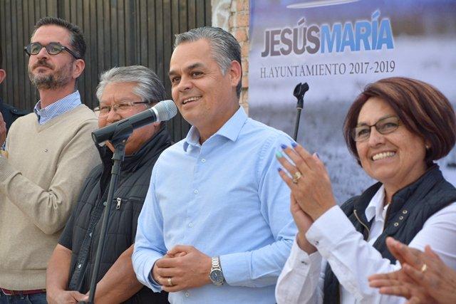 ¡Arranca obras Noel Mata Atilano en Jesús María!