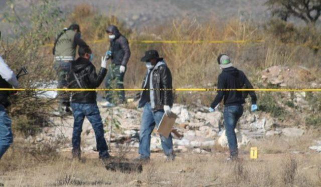 ¡Localizaron a 2 hombres ejecutados y con narco-mensajes en Guadalupe, Zacatecas!