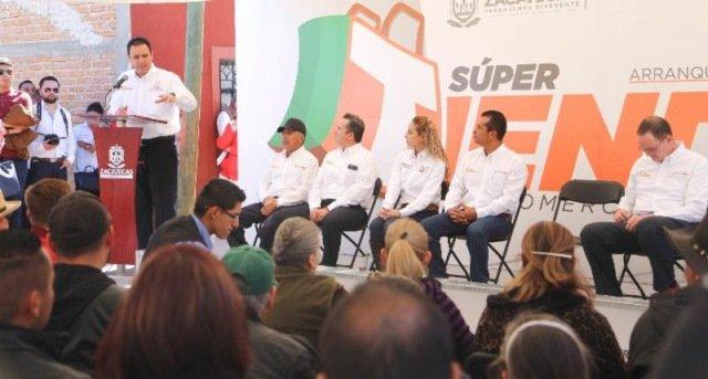 ¡Apoya gobernador Alejandro Tello modernización de tiendas de abarrotes para que compitan con cadenas comerciales!