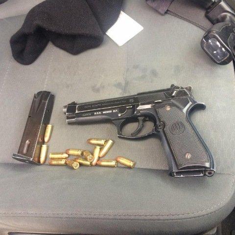 ¡Policías estatales preventivos detuvieron a un sujeto armado en Valparaíso, Zacatecas!