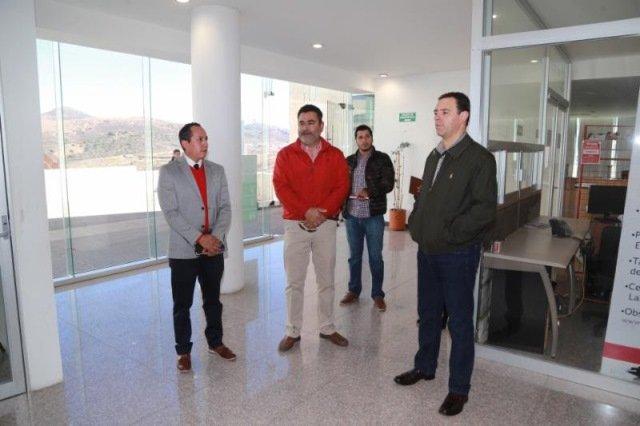 ¡Gobernador Alejandro Tello recorre Ciudad Administrativa y ordena acciones de rehabilitación!