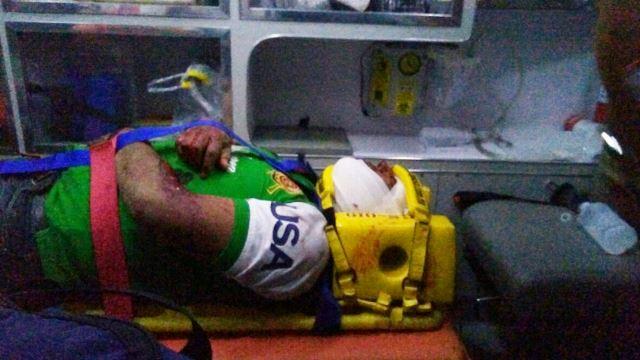 ¡Graves un policía municipal y su esposa tras fuerte accidente en Aguascalientes!