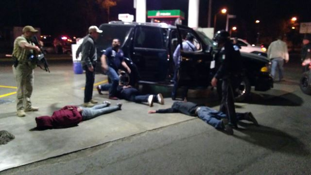 ¡Tras espectacular operativo detuvieron a 4 delincuentes en Aguascalientes!