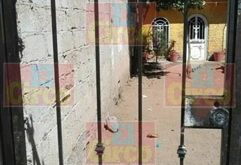 ¡Balearon la casa del líder del Barzón, en Calera, Zacatecas!
