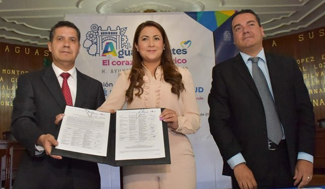 ¡Se instala en Aguascalientes el Comité Municipal de Salud y Adicciones 2017-2019!