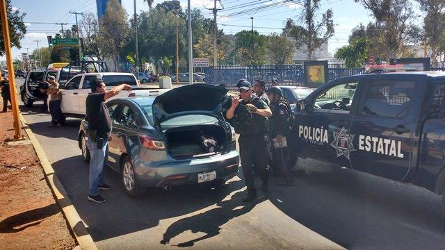 "¡Capturaron a un ""chilango"" que asaltó a 2 cuentahabientes en Aguascalientes!"