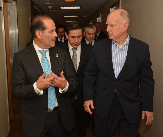 ¡Gobernadores de Aguascalientes y California signan acuerdo a favor del medio ambiente!