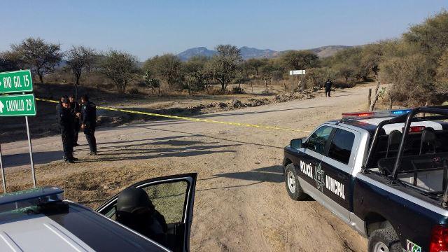 ¡Hallaron a un hombre ejecutado en Aguascalientes!