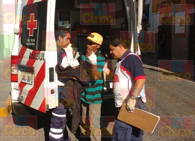 ¡Trabajador fue asaltado, herido y despojado de $70 en Lagos de Moreno!