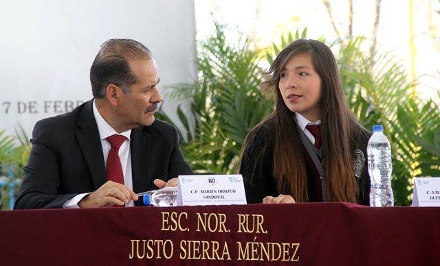 ¡Obra pública con sentido social que dignifique la educación en Aguascalientes!