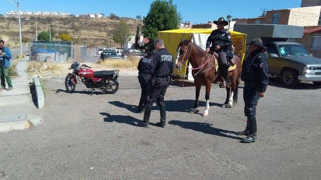 ¡Balearon a un ladrón de motocicletas en Aguascalientes!