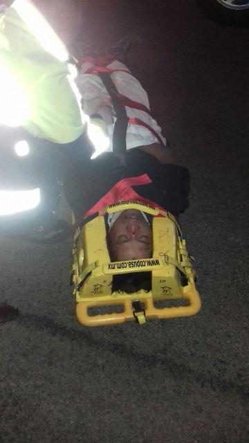 """¡Grave hombre atropellado por un auto """"fantasma"""" en Aguascalientes!"""
