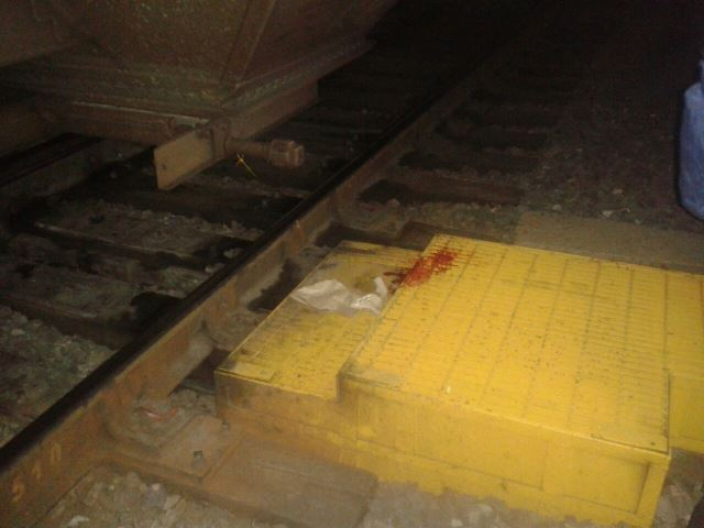 ¡Agoniza guardia de seguridad de FERROMEX atropellado por el tren en Aguascalientes!