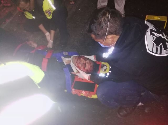 ¡4 árbitros profesionales casi se matan tras fuerte accidente en Aguascalientes!