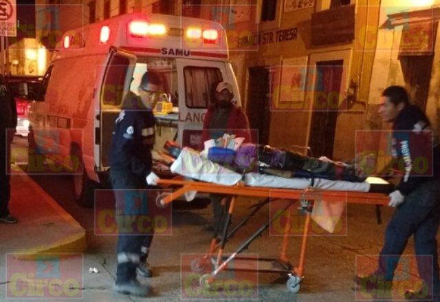 ¡Grave niño que cayó de una camioneta en movimiento en Lagos de Moreno!